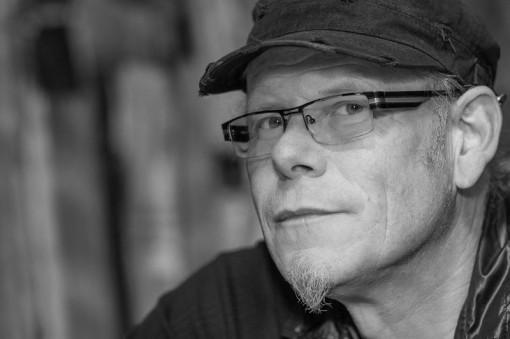 Rainer Hess in seinem Atelier, 2014 - Portrait von Dietmar Simsheuser