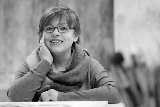 Marcela di Blasi in der Akademie Altenahr e.V. - Dernau, 2014 - Portrait von Dietmar Simsheuser