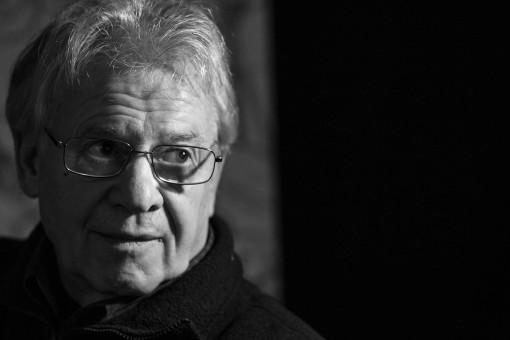 Robert Reuter in seinem Atelier, 2015 - Portrait von Dietmar Simsheuser