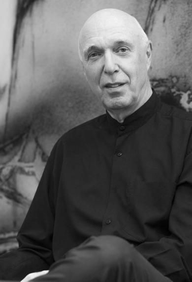 Udo Claassen in seinem Atelier, 2015 - Portrait von Dietmar Simsheuser