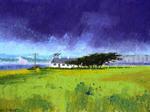 """West Irland"", AhRTIST Alan Chaney"