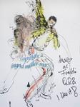 """Queen Revival Band"", 2014, LAGA Zülpich - ARTISTS Ingrid Müller-Marx"