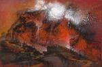 Norwegische Landschaft - 30x20 cm - AhRTISTS Udo Claassen