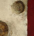 Kugeln, Ausschnitt, Mischtechnik auf Leinwand, 50x100 cm -  Birgit Braun-Buchwaldt - AhRTISTS