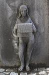 Brunnen in Kalenborn, Detail, Basalt - AhRTIST Rudolf P. Schneider