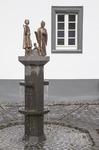 Brunnen in Kesseling, Basalt / Bronze - AhRTIST Rudolf P. Schneider