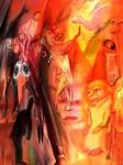 Mit dem Storch fing alles an - farbige Struktur - Rainer Neuefeind