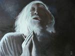 Betender - Öl auf Leinwand - Michael Gottschalk