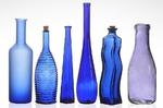 Blaue Flaschen - AhRTIST Hans Joachim Markgraf